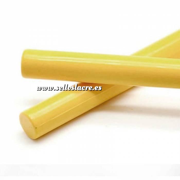 Imagen Barras para PISTOLA Barra Lacre 12mm de Resina AMARILLO para Pistola
