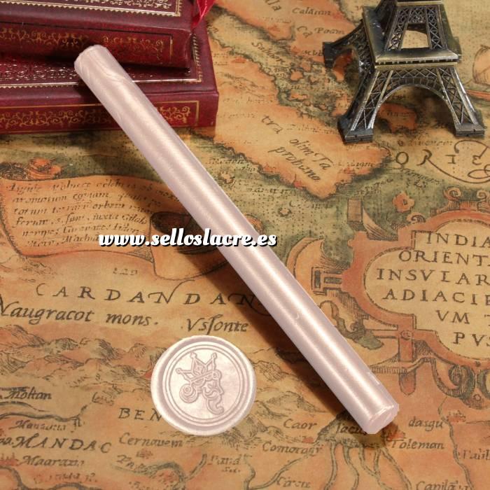 Imagen Barras para PISTOLA Barra Lacre 10mm Flexible pistola ROSA PALO Brillante