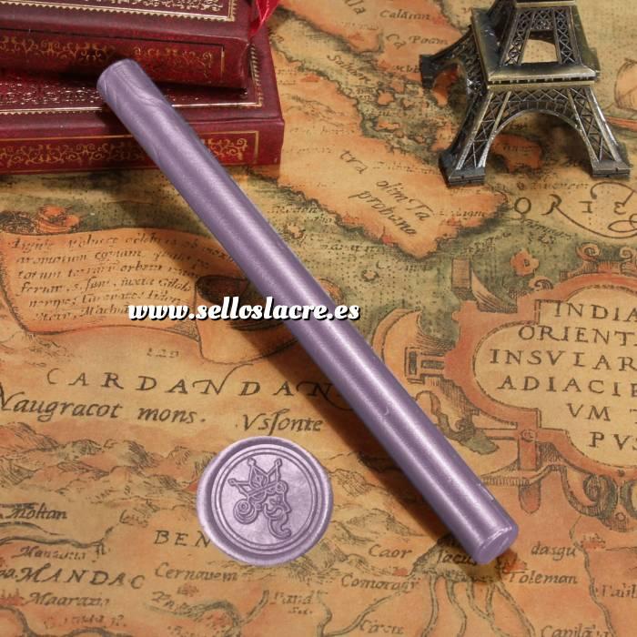 Imagen Barras para pistola Barra Lacre 10mm Flexible pistola LILA Brillante