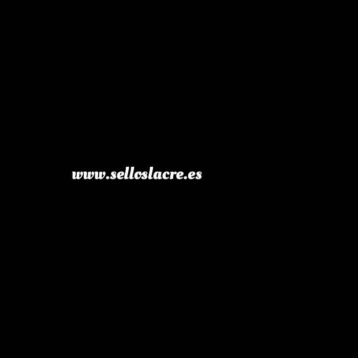 Imagen Con NUESTRO diseño Sello Lacre 2.5 cms. Corazón celta con iniciales