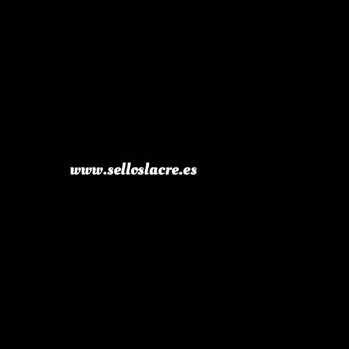 Imagen Con NUESTRO diseño Sello Lacre 2.5 cms. Corazón con iniciales