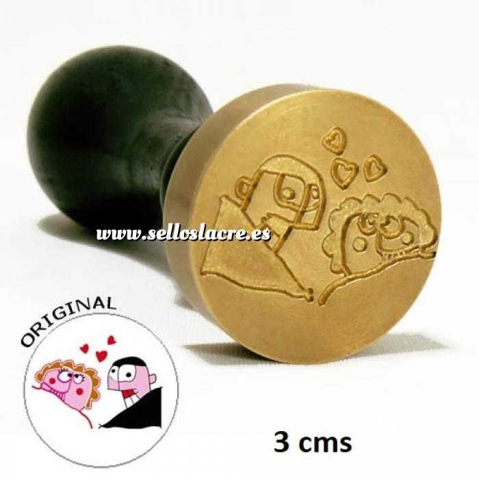 Imagen Personalizado con TU diseño Sello Lacre 3 cms. Personalizado con TU diseño