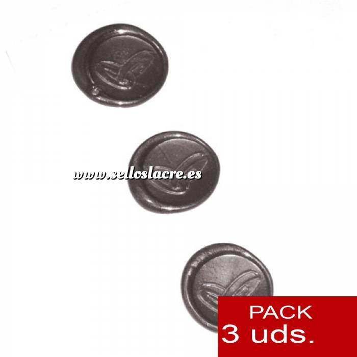 Imagen Sellos adhesivos Sellos de lacre Adhesivos- Anillos de boda plateados 3 uds (Últimas Unidades)