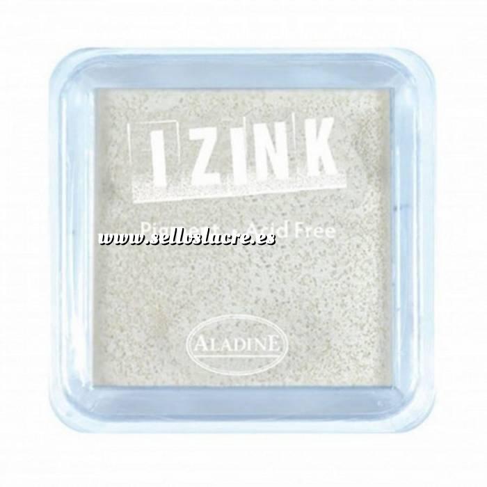 Imagen Tipos de TINTAS TAMPON IZINK PIGMENT WHITE