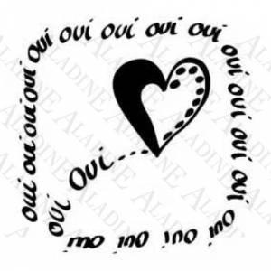 Amor y Boda - SELLO CAUCHO CORAZÓN (Últimas Unidades)