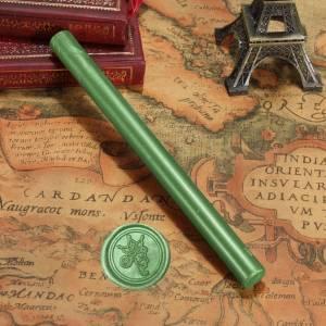 Barras para PISTOLA - Barra Lacre 10mm Flexible pistola Verde Pino Brillante