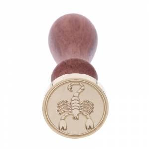 Diseños inmediatos - Sello lacre mango largo - SIGNOS DEL ZODIACO 2 - Escorpión (Últimas Unidades)