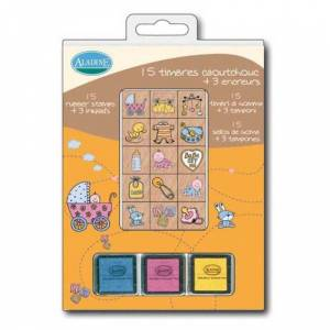 Sellos de CAUCHO_Kits 15 sellos