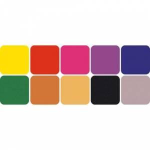 Imagen Tipos de TINTAS Tampones color prima. 10 colores. (Últimas Unidades)